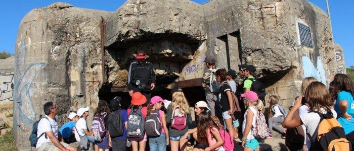 A la découverte de l'histoire - Le Mur de l'atlantique - Centre de Soulac sur mer