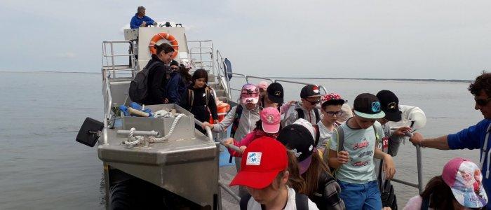 De retour du phare de Cordouan - Centre de Séjour Soulac sur Mer